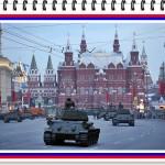 2015, Piazza Rossa, Mosca. Parata militare dedicata al 70° anniversario della Vittoria