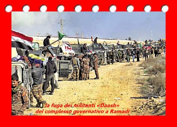 la fuga dei militanti «Daash» del complesso governativo a Ramadi