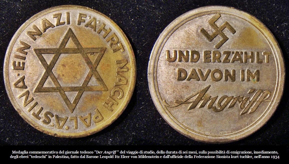 medagliaviaggiopalestinader-angriff1934sionistinazionalsocialistigrande